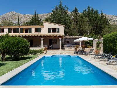 Photo for VILLA WITH CHARMING AA/C AND FREE WIFI FROM 1KM OF POLLENSA TOWN