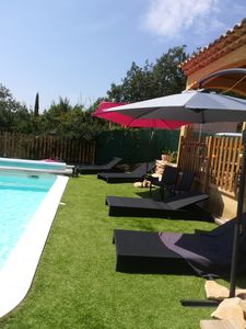 Photo for Villa private pool 10 minutes from the lakes in the Gorges du Verdon