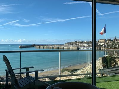 Photo for 2BR Apartment Vacation Rental in Granville, Normandie