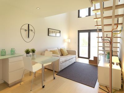Photo for Charming Matosinhos apartment in Ramalde with WiFi & lift.