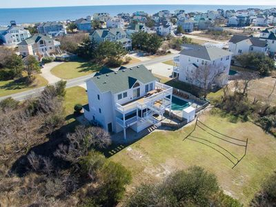 Photo for #419: Reduced Rates! OCEANSIDE Home in Corolla w/HeatedPool, HotTub & RecRm