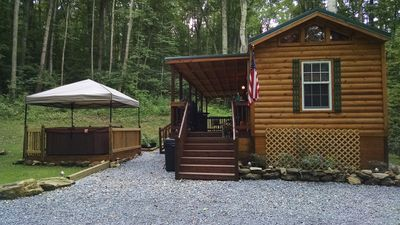 Side view of Family Cabin