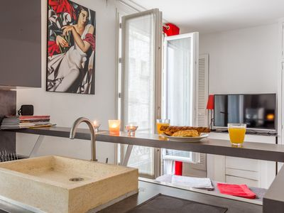 Photo for WAKE UP WITH THE MONTMARTRE BELLS - Studio for 3 people in Paris ville