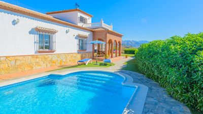 Photo for Great Andalusian house with pool - privacy guaranteed