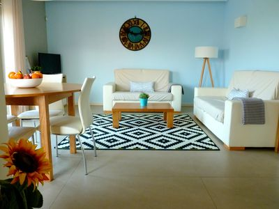 Photo for 2-bedroom apartment with ocean view, shared pool in Lux Tavira Residence