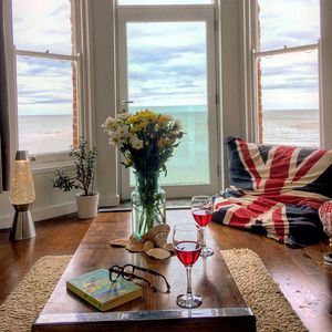 Photo for Beautiful seafront family home with amazing direct sea views
