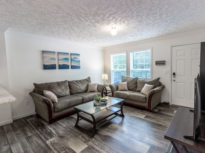 Photo for West Asheville Getaway-close to town and private