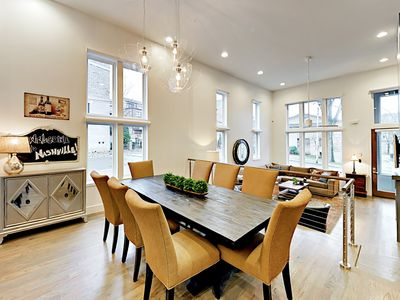 Dining Area - Natural light pours into the 4-level corner unit.