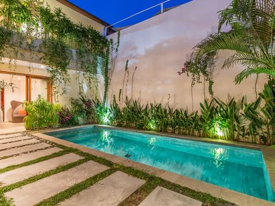 Photo for Villa Mardel 3bd with roof top barbecue terrace in Berawa Canggu