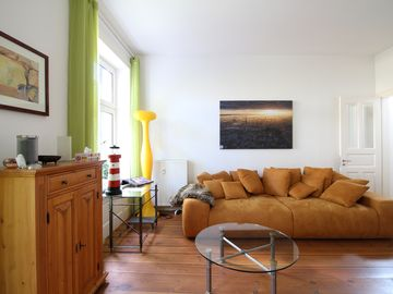 Great 85sqm heart of St. Gerorg - Super central - with balcony
