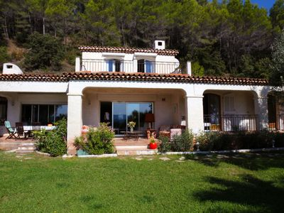 Photo for charming house, breathtaking views, sleeps 8, pool
