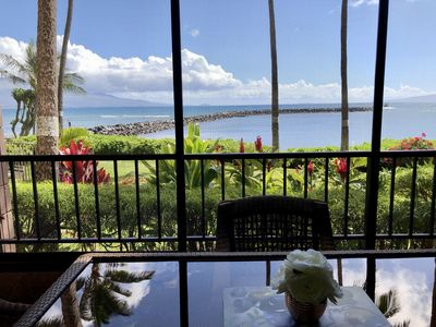 Photo for Hidden Gem:  Oceanfront Secluded Two Suite No Smoking Condo In Maalaea