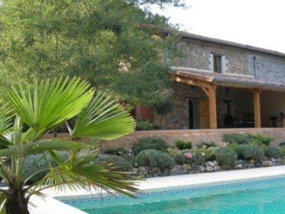 Photo for Nice farmhouse from the Ardeche with a pool