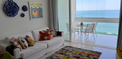 Photo for Apt. Ocean Front on Pitangueiras Beach