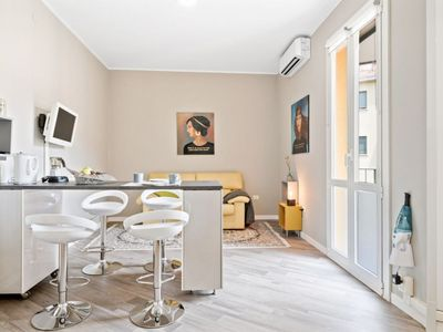 Photo for Apartment Free Parking 10 minutes from Bologna Fair