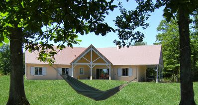 Photo for Spacious Cottage with large garden 12 km from Vichy