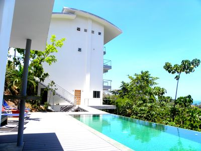 Photo for Le Toucan For 2 or 4 people - With swimming pool and view on the ocean.