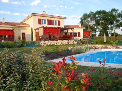 Photo for La Benjamine is a very comfortable holiday home in the Gers.