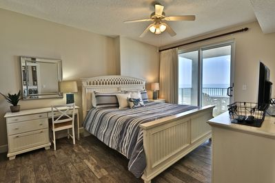 First Gulf front master bedroom