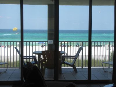 Photo for long beach-all rooms oceanfront-corner unit-----weekly, monthly only-local owner