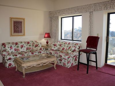 Photo for Vacation in this ninth floor unit at the summit of Sugar Mountain.