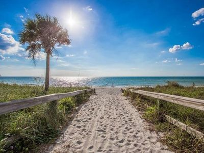 Gulf/27th Ave Beach Access🏖️ Only 61 👣Steps to the Sand~OceanSide Paradise​