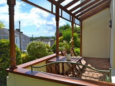 Photo for Beautifully restored house in pretty village near Fowey, beaches & Eden Project.