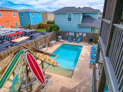 Photo for Private Pool - 3 BR, 4 BA Port A Home. Sleeps up to 8. 4 Minute walk to Beach.