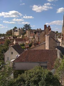 Photo for Lovely cottage with amazing views on castle and lovely terasse in Montresor