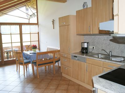 Photo for Apartment up to 4 people- Wendelstein- 65 sqm, 2 bedrooms, kitchen, satellite TV, balcony, private entrance, non-smoking
