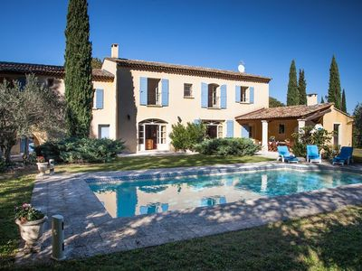 Photo for Mas - Farm House 400m² - Saint Rémy de Provence - Private heated swimming pool