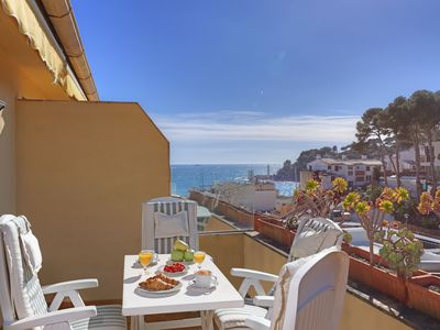 Photo for TRES PINS - apartment in the center of Llafranc-Costa Brava