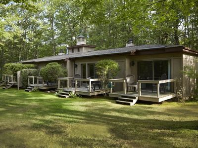 Photo for 2 Bedroom 2 Bath Suite Nestled in the Woods