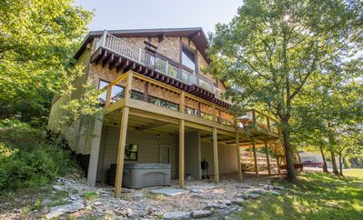 Photo for Ozarks Outdoor Legacy Estate-Secluded 5 bedroom Private Home-Sleeps 20