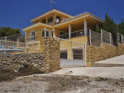 Photo for WONDERFULL VILLA IN VENTA LANUZA FOR 6-8 PERSONS, PRIVATE POOL; AIRCO, SEASIDE