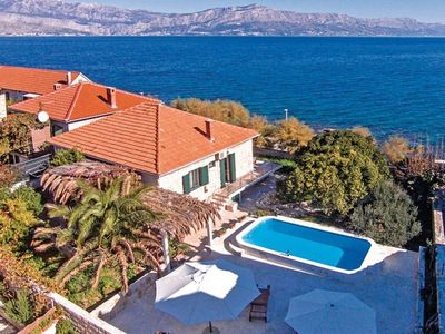 Photo for Seaside house with a swimming pool Postira, Brač (K-6054)