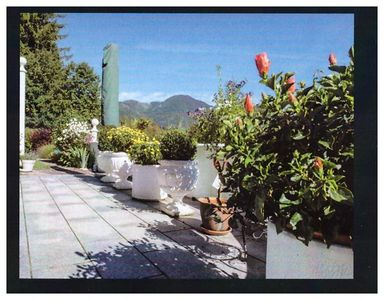 Photo for Apartment in a dream location overlooking the local mountain Katrin