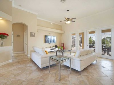 Photo for Villa Summer Melody - elegant modern 4 bedroom Pool home with south exposure, free wifi