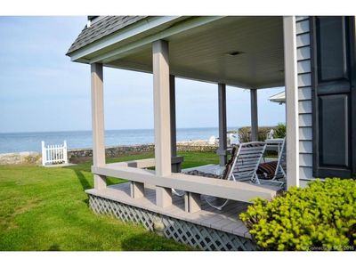 Photo for NEW LISTING -GORGEOUS WATERFRONT HOUSE in Black Point Beach