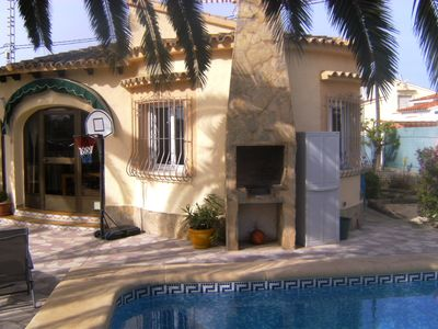 Photo for Villa Caronico, lovely cottage, private pool, central heating