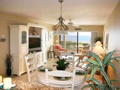 Photo for Oceanfront 2-BR Condo With Updated Kitchen and Resort Club Privileges