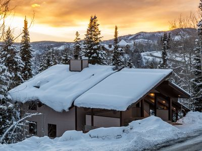 Photo for Private Home on Snowy Creekside   Secluded Location   Minutes to Ski Base   Private Hot Tub
