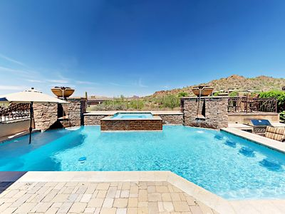 Photo for Luxury 4BR Home with Resort-Style Pool & Patio, Theatre Room