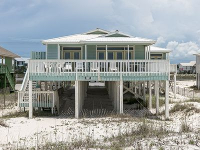 Photo for Book your fall getaway at Rally Point: 4 BR/4 BA House in Gulf Shores Sleeps 14