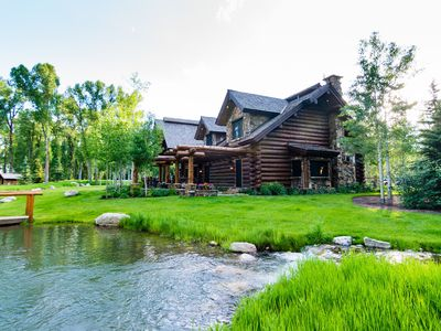 Photo for Teton Dreaming at Sprawling Luxury Ranch Compound near Snake River | Abode at Moonshine Reserve