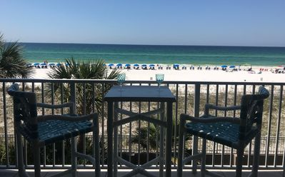 Photo for Beautiful Gulf Front Views/New Ownership 2Bdrm & Great Rates