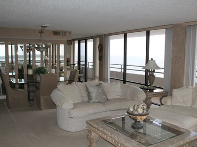Photo for Oct-April Specials! Top Floor Condo w/Ocean & Intercoastal Views! New Listing