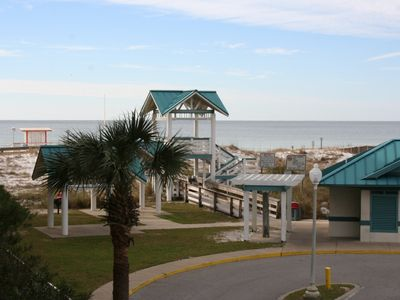Photo for Azure 222~3bd 2ba~Updated Condo~Gulf View~Free Beach Service~Family Friendly