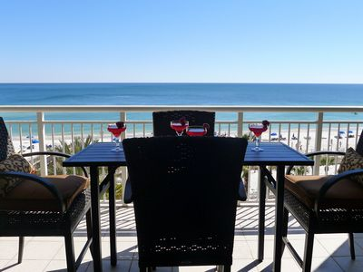 Photo for ~SPECIAL 4/6Wk $1495 Less 25%!FREE Beach Service!Gulf Front!HUGE Pool!Best View!