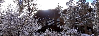 Photo for Cozy Cabin Retreat In The Pines